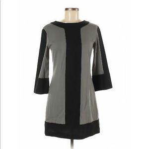 ABAETÉ - women gray casual dress Sz 2